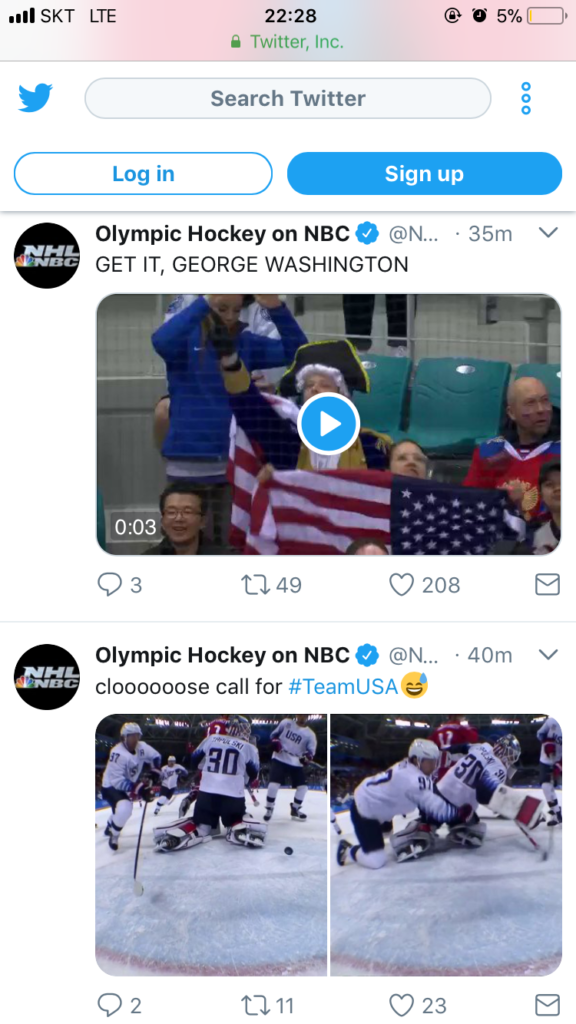 George Washington at the Winter Olympics on NBC